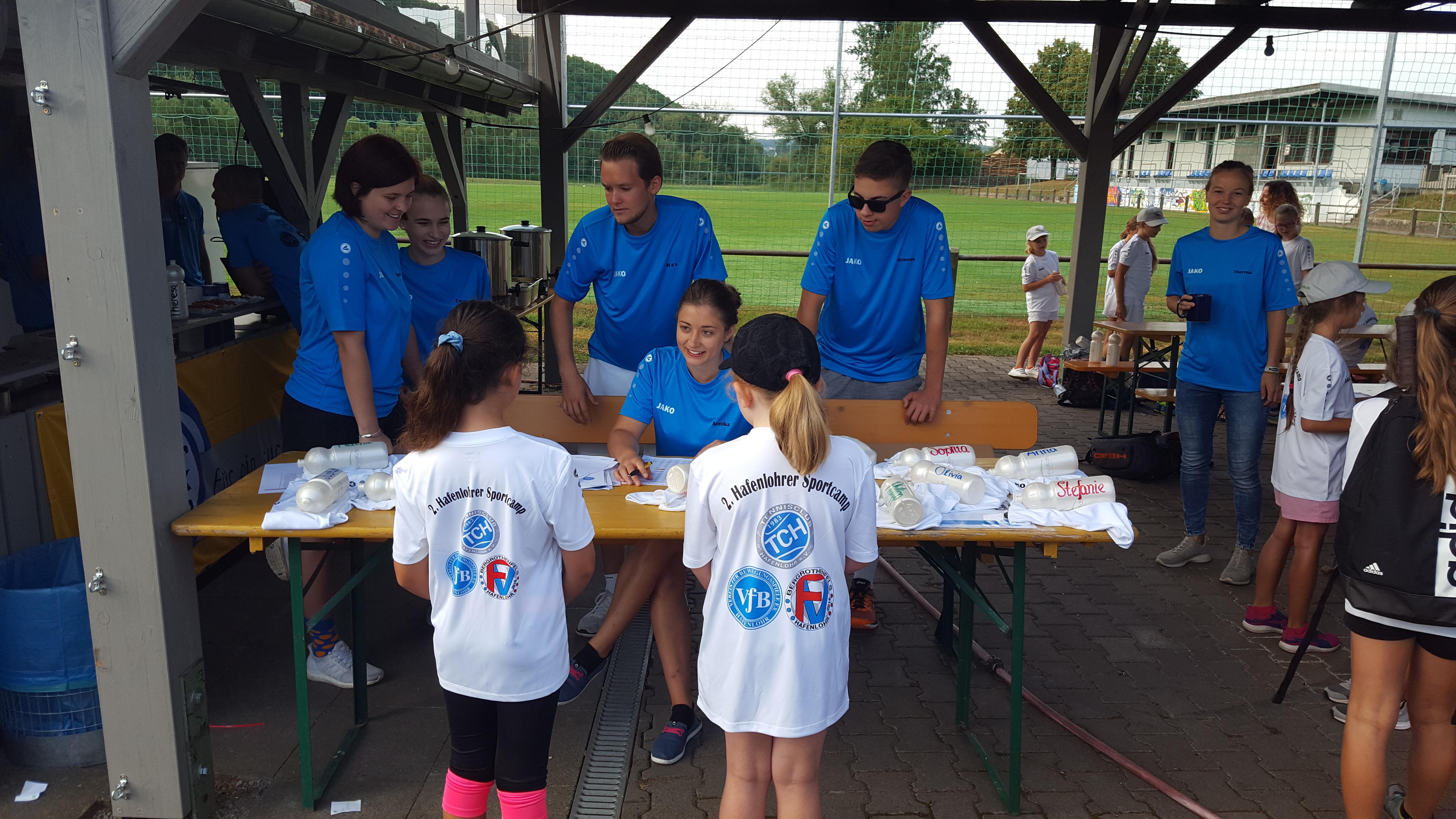 Bilder des Sportcamps